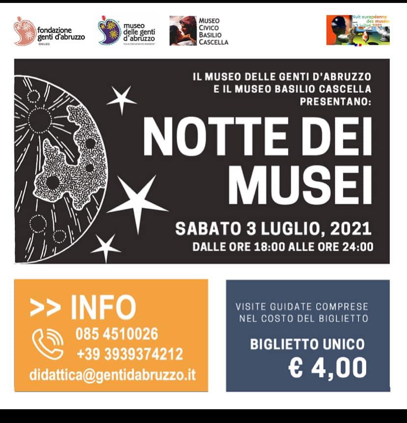 Evento per bambini Museo delle Genti d'Abruzzo e Museo Cascella