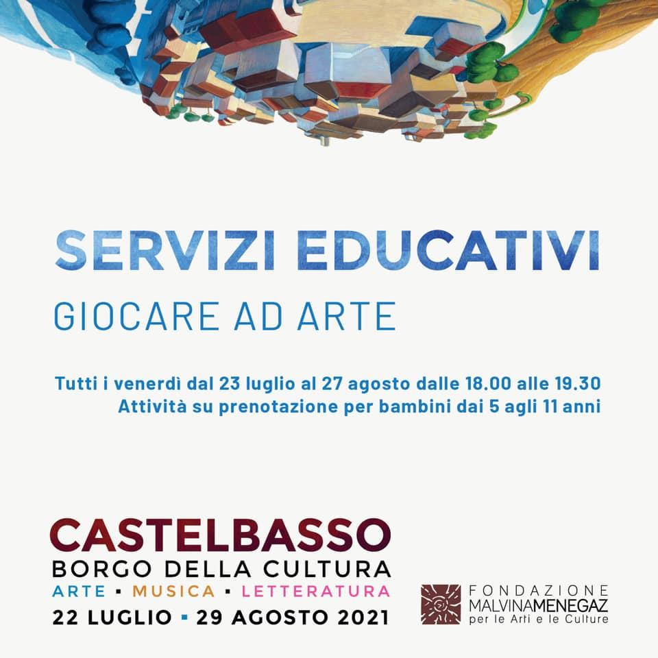 Laboratori per bambini Castelbasso di Fondazione Malvina Menegaz