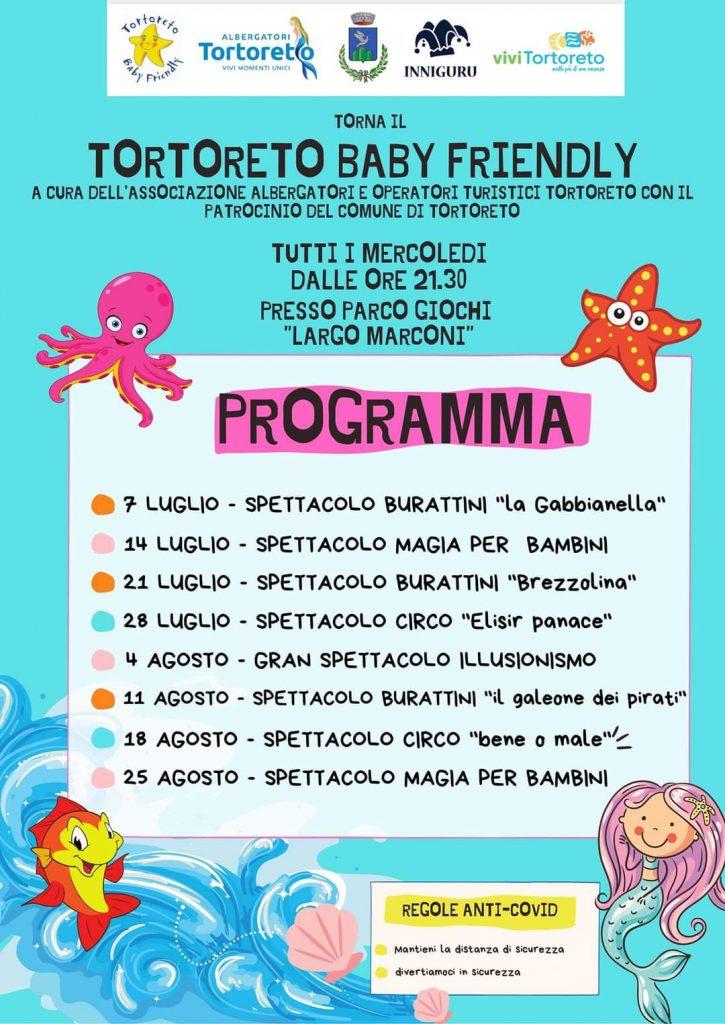 Spettacoli per bambini a Tortoreto