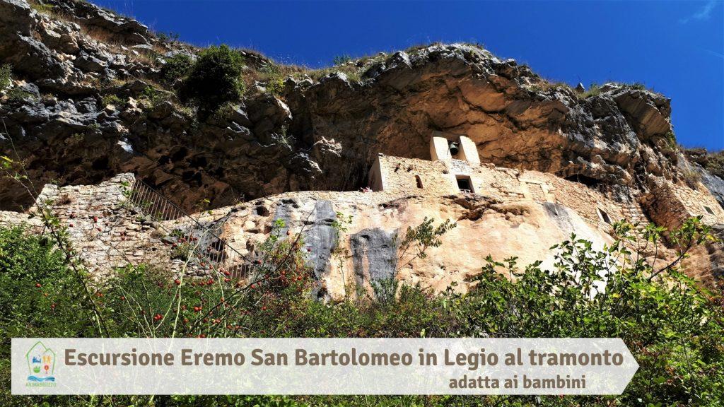 Escursione Eremo San Bartolomeo in Legio al tramonto