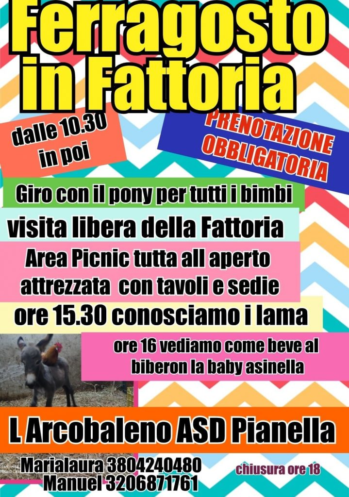 Evento per bambini a Pianella