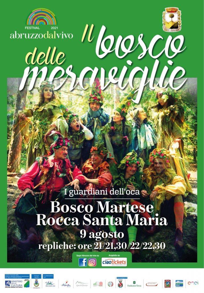 Spettacolo per famiglie a Rocca Santa Maria di Teramo