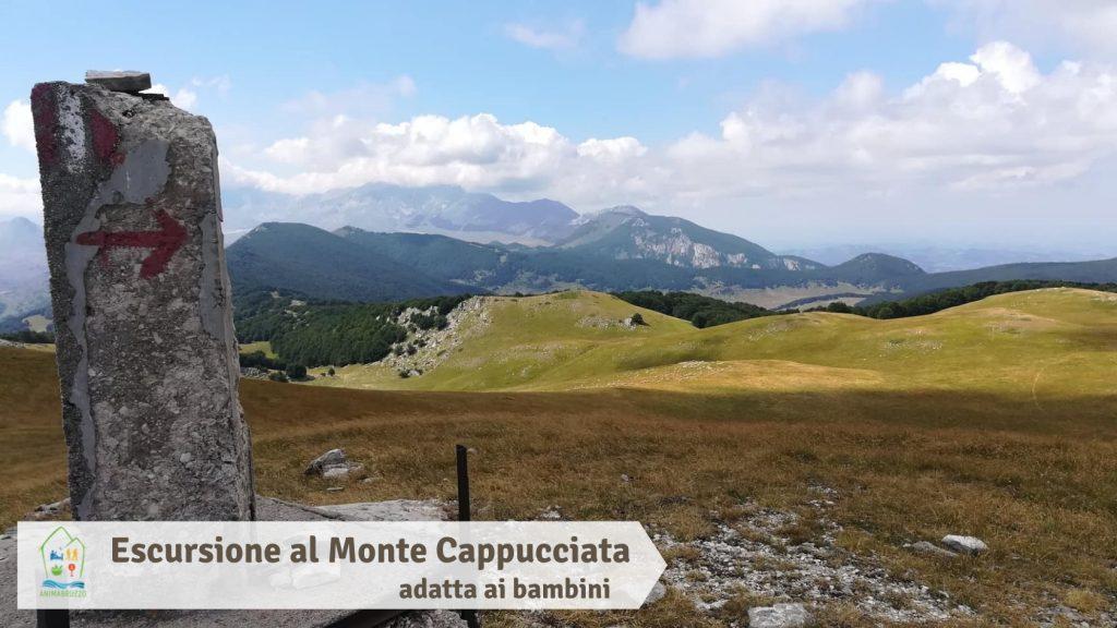 Escursione al Monte Cappucciata adatta ai bambini
