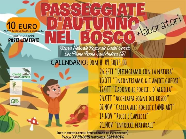 Eventi Riserva Naturale Castel Cerreto