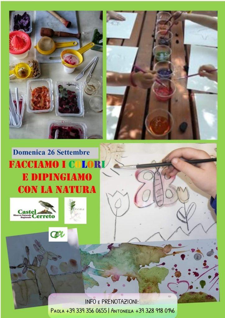 Evento per bambini Riserva Naturale Castel Cerreto