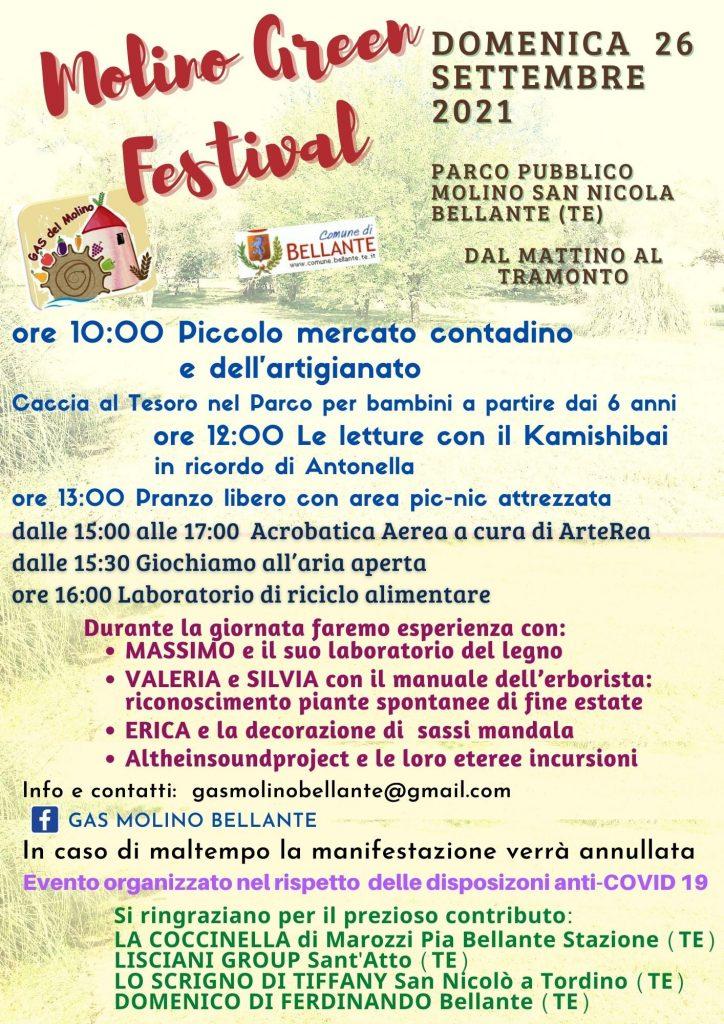 Molino Green Festival a Bellante