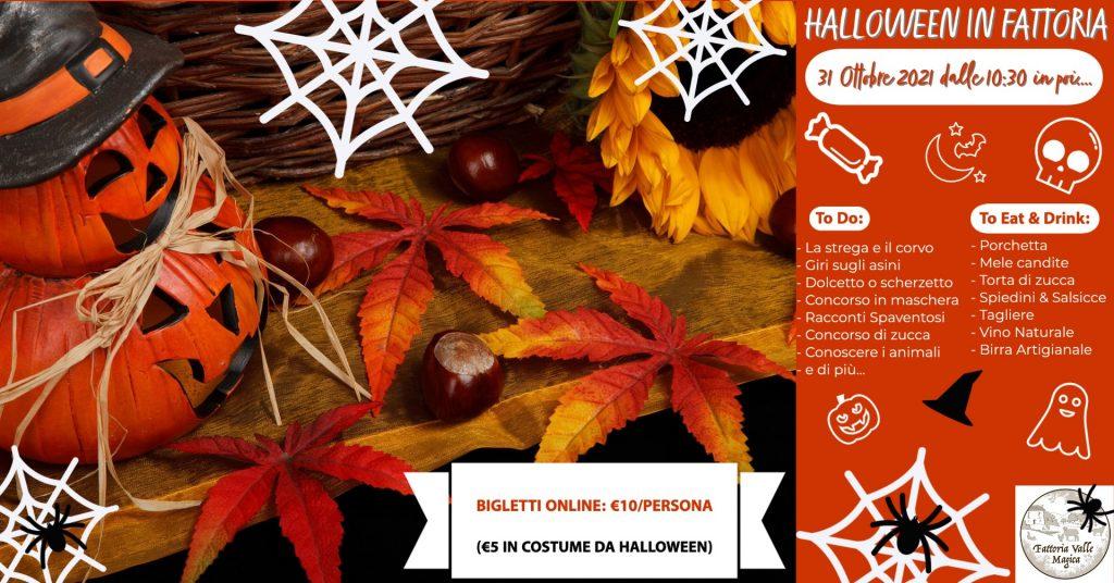 Halloween in Fattoria a Carapelle Calvisio da Valle Magica