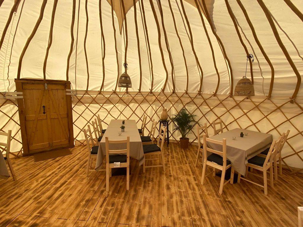 nuova yurta della fattoria valle magica